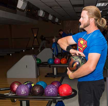 The Dollars for FGCU Scholars bowling event raises money for scholarships.