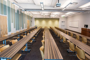 One of the ETI classrooms.