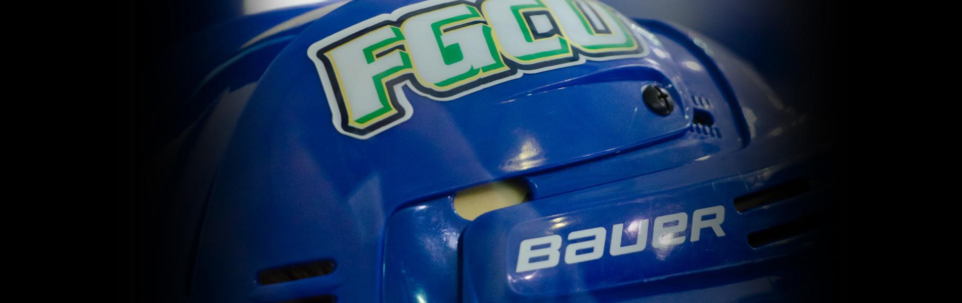 FGCU Hockey Club - helmet