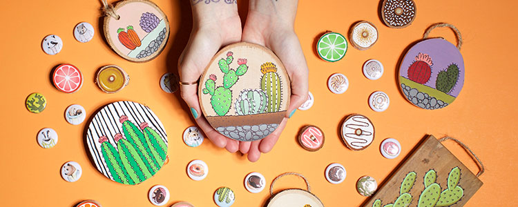 Tarra Wood and her whimsical creations
