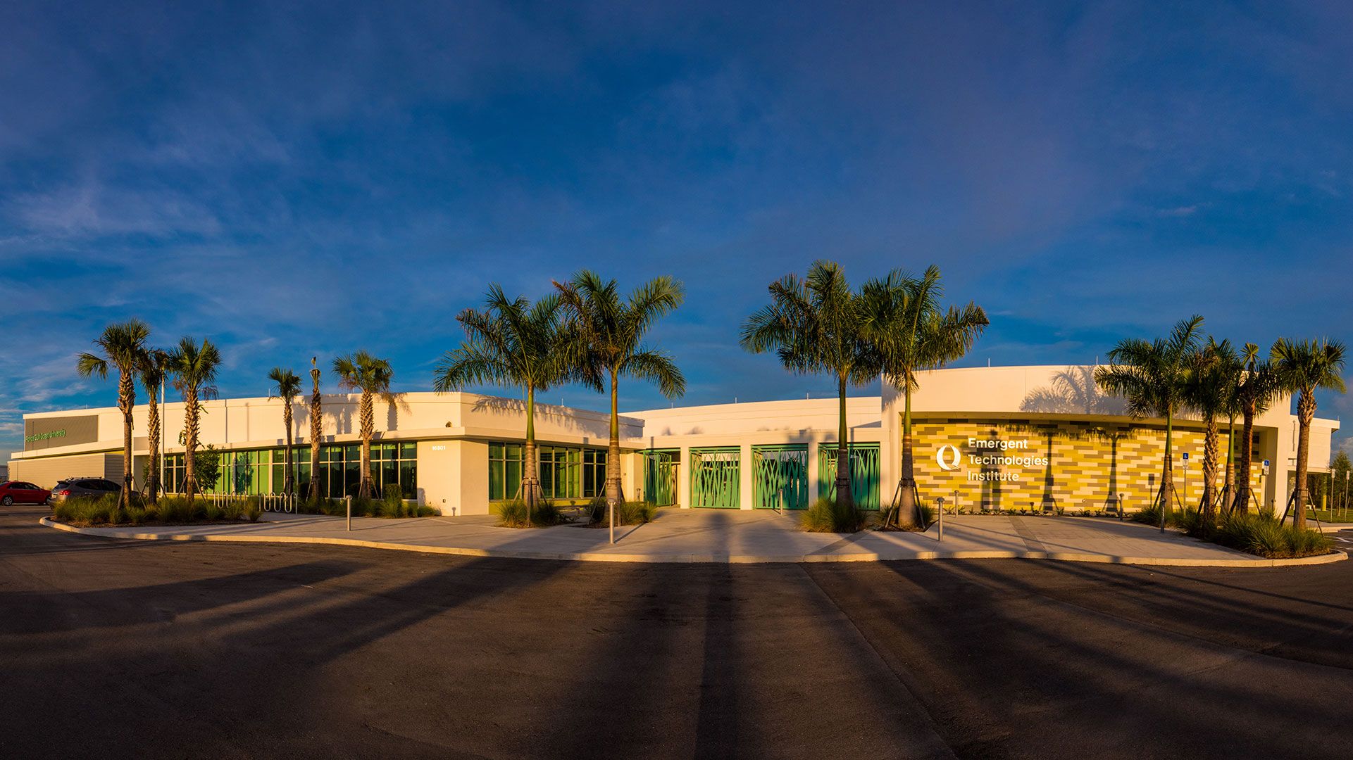 The Emergent Technologies Institute is off Alico Road north of the FGCU campus.