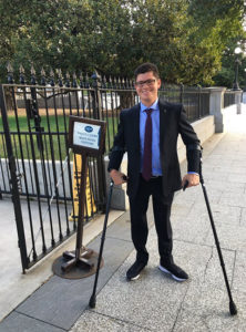 Matthew Walzer participated in a panel discussion at The White House.