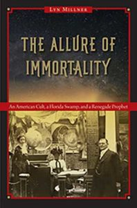 Photo shows cover of book 'The Allure of Immortality'