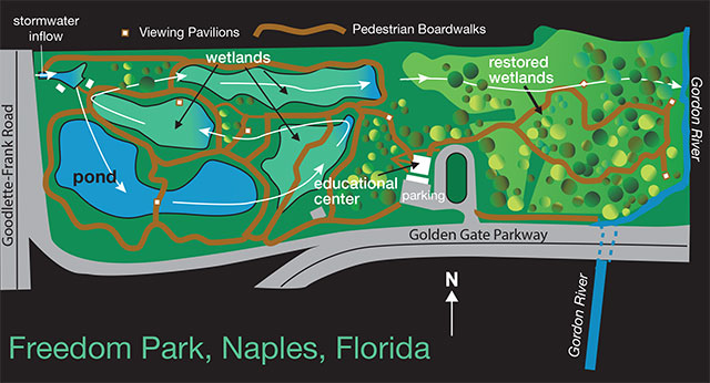 Map of Freedom Park