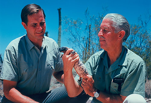 Jim Fowler and Marlin Perkins