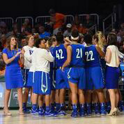 FGCU WBB Huddle
