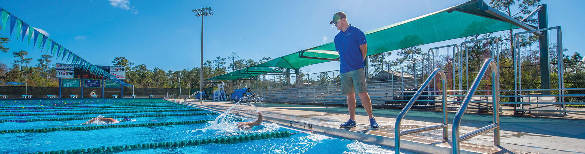 Rollins keeps FGCU swimming in the fast lane