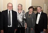 George and Rebecca Fogg, Gail and John Rumble