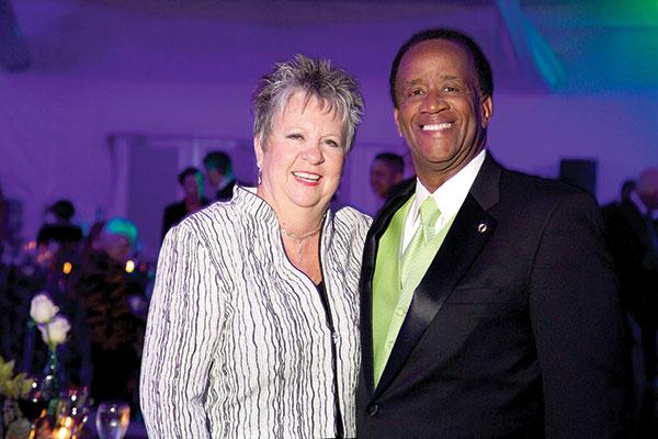 Jo Anna and President Wilson G. Bradshaw
