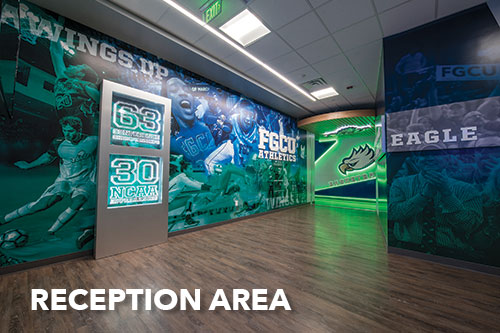 Alico Arena Reception Area Photo