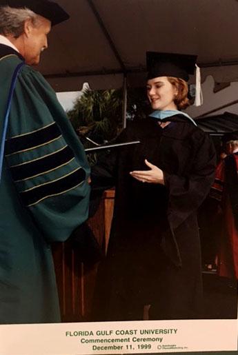 Karen Carmody - graduation 1999