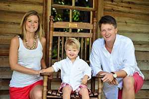 Todd and-Aimee Cofer with son Bayden