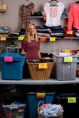 Jessica Goodall, founder of Eva's Closet