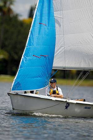 Kris sailing
