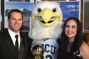 Photo shows FGCU alumni Andy and Angela Kunkle