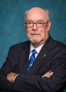 Photo shows FGCU President Mike Martin