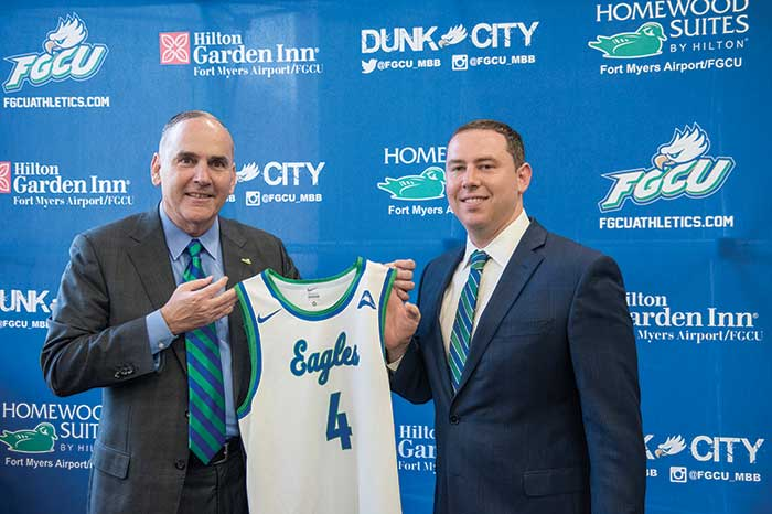 FGCU Athletics Director Ken Kavanagh quickly promoted Fly to be the fourth head coach in program history.