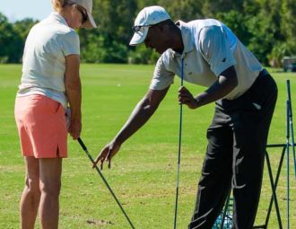 PGA majors help faculty and staff sharpen skills