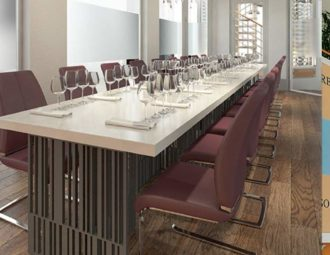 Wine tower to empower hospitality students