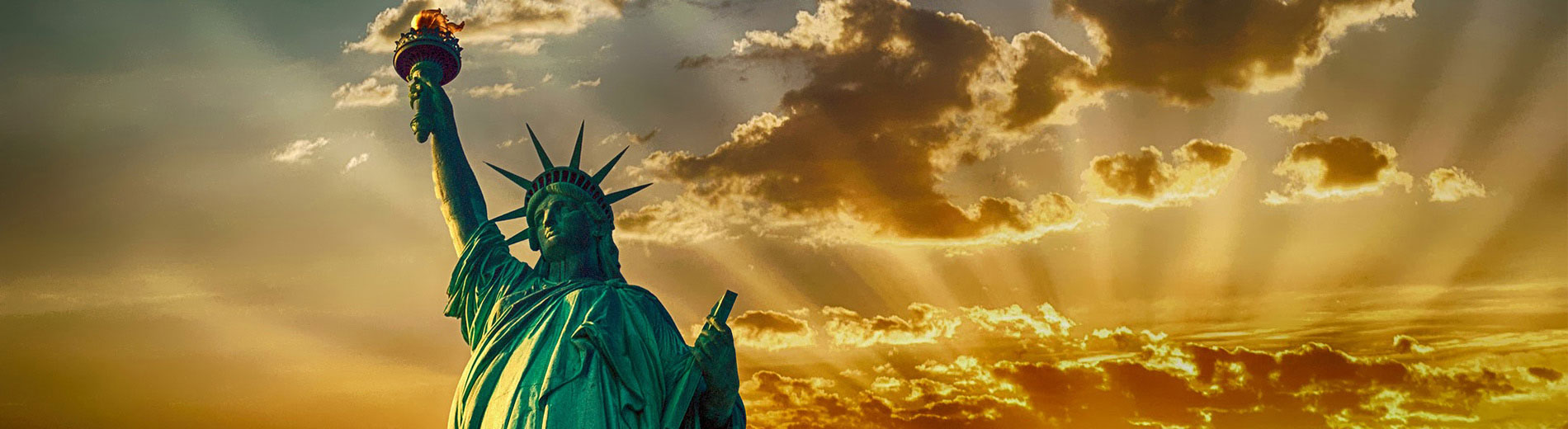 stock image of statue of liberty