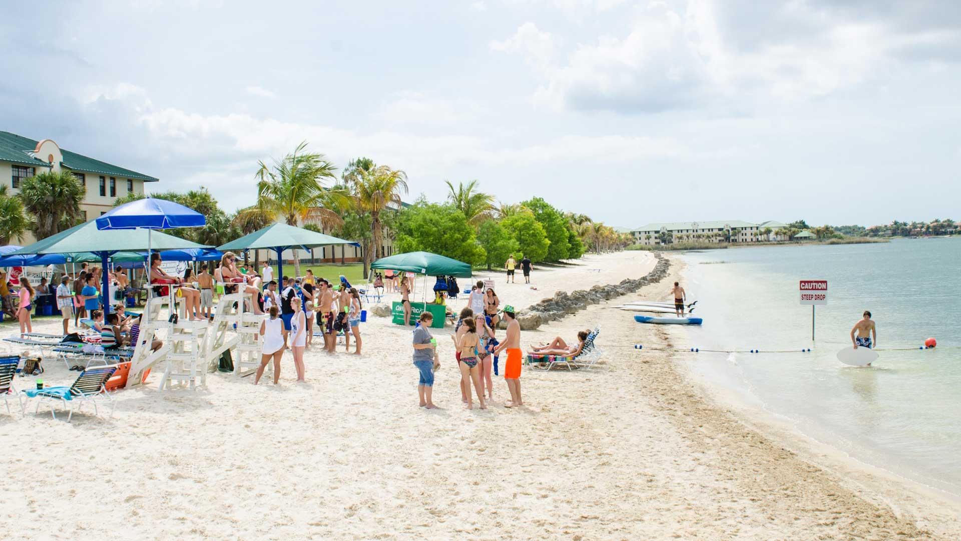 FGCU beach ranking