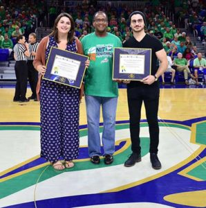photo shows FGCU's first Fulbright scholars