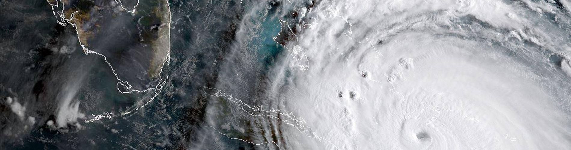 Hurricane Irma approaching Florida