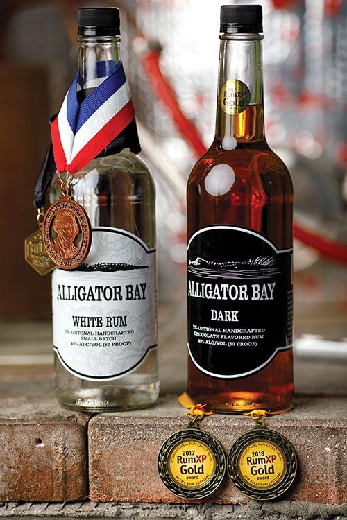 Rum distiller has entrepreneurial spirit