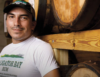 Rum distiller has entrepreneurial spirit