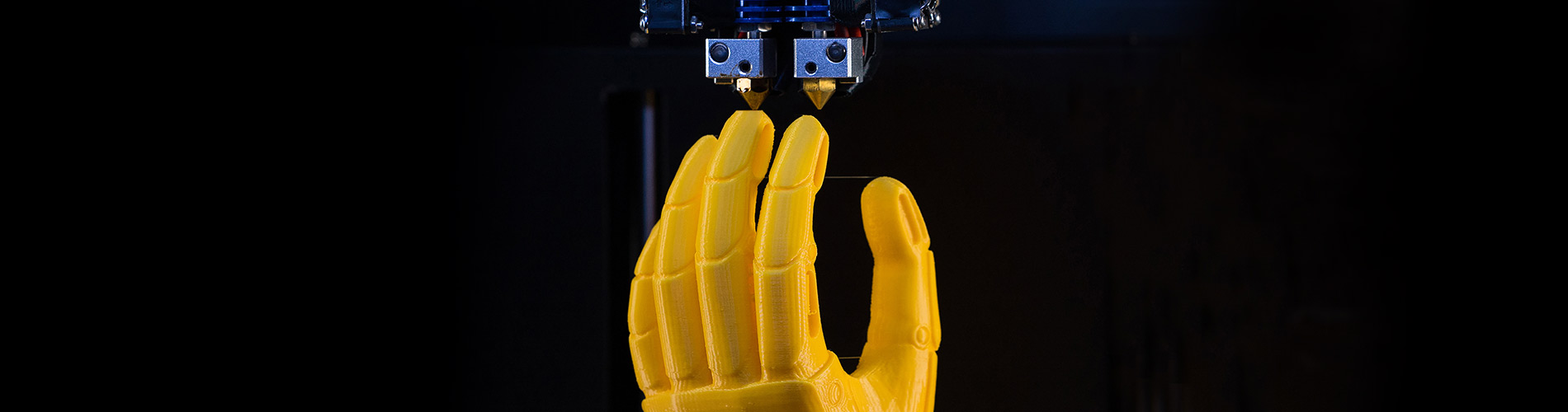Photo of robotic hand