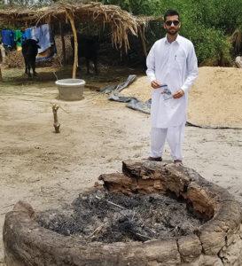 Photo of Iqbal in Pakistan