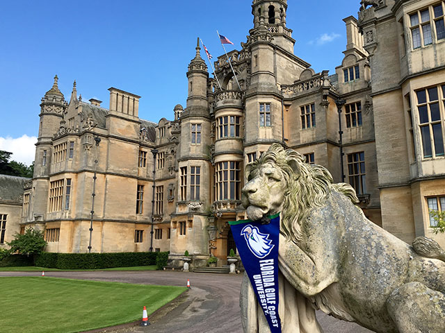 photo shows Harlaxton College