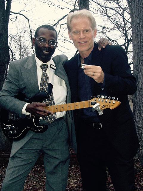 photo shows Delta blues musicians