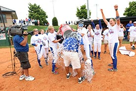 Photo of ASUN win celebration
