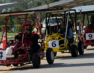 Go-kart races challenge students to navigate STEM