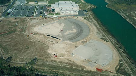 Photo of baseball field indevelopment