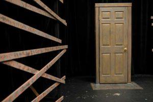 Wooden Door used by FGCU Theatre department