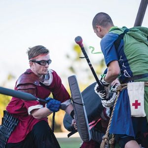Medieval combatants fight to 'the death' - FGCU 360