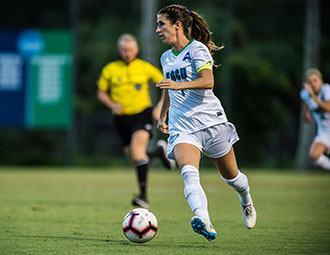 Soccer's Fritz shares top ASUN student-athlete honors