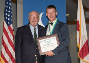 photo shows FGCU Hall of Fame student