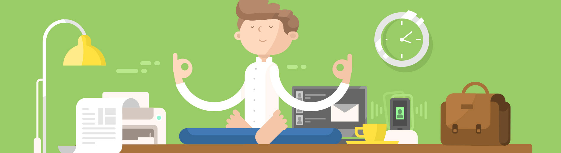 Graphic shows workplace wellness