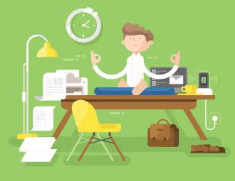 Researchers study links between job satisfaction and wellness