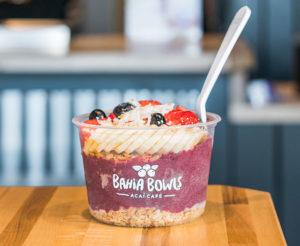 photo of smoothie bowl