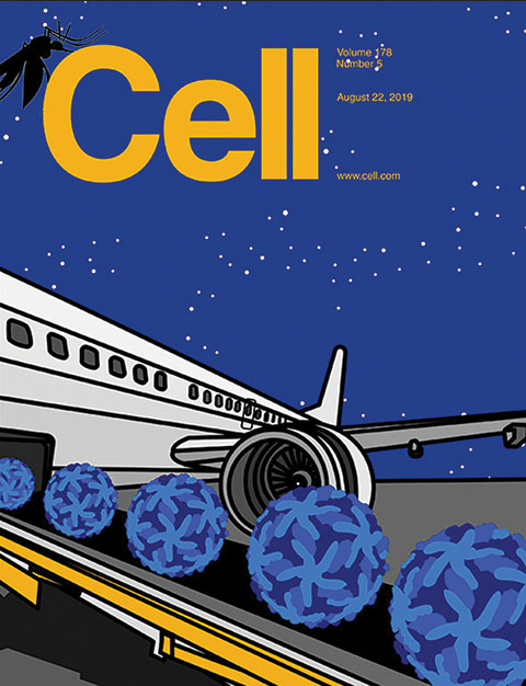 Photo of Cell Magazine cover.