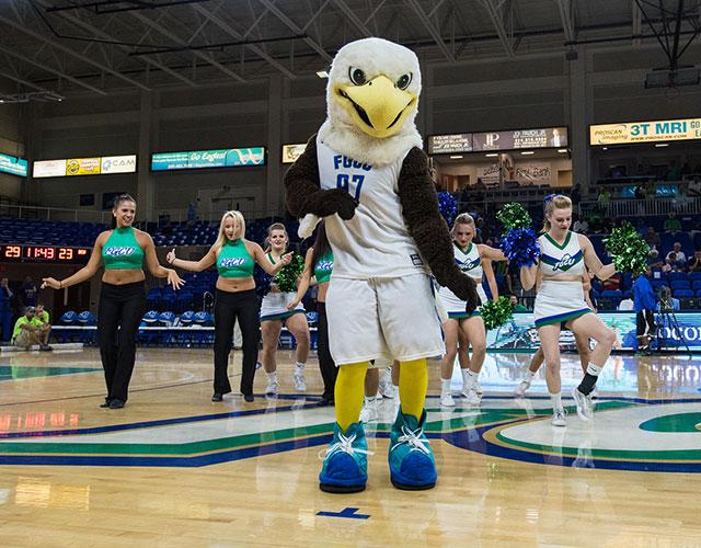 photo shows FGCU mascot