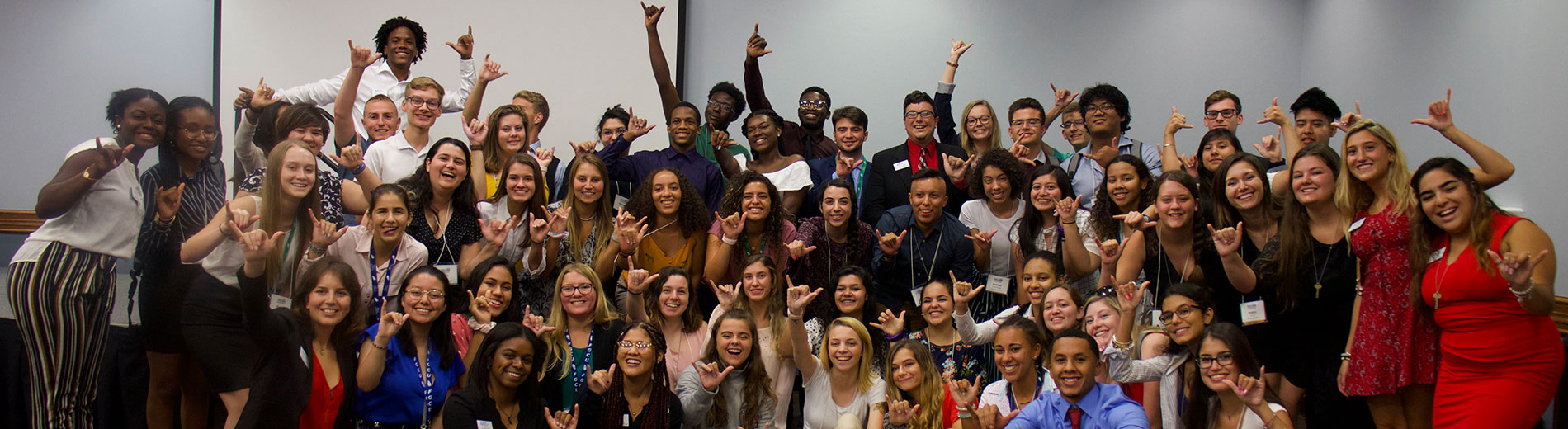 photo shows FGCU students