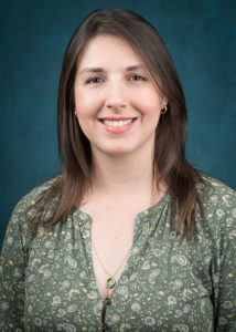 photo shows fgcu grad student Clarisse Halpern