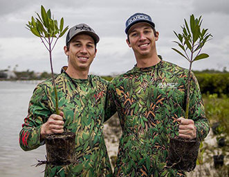 Alum develops clothing with a cause: mangroves