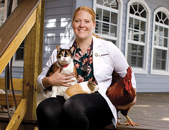 For alum, animals are much more than pet projects