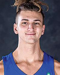 Photo of FGCU basketball player aleb Catto.